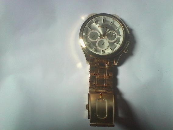 Relógio Invicta Aço Pulseira Aço Masculino Tamanho Gigante