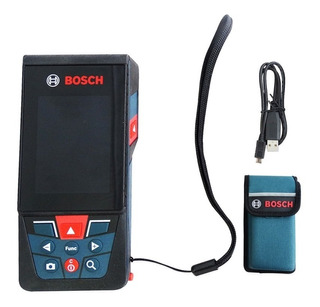 Medidor Laser De Distancia Mod.0601072fg0 Glm 120 C Bosch