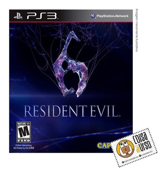 Resident Evil 6 Ps3 (mídia Física)