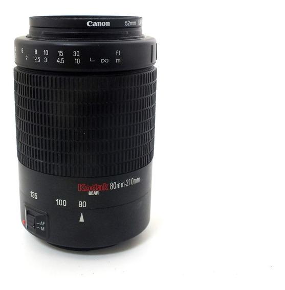 Lente Telefoto Kodak 80-210mm F4.5 5.6 Mont. Canon Ef A11856