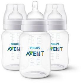 Kit 3 Mamadeiras Avent Philips Novo Ssitema Anti-gases Bebê