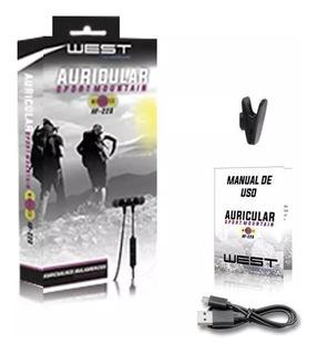Auriculares Bluetooth West Manos Libres Sport