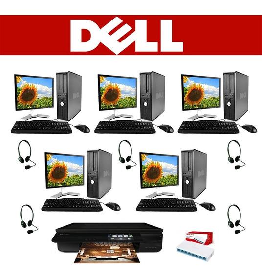 Paquete Ciber Doble Nucleo Dell 4gb 250gb Monitor 17*regalos