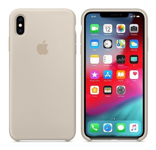 Capa iPhone X Original Silicone Pronta Entrega Várias Cores