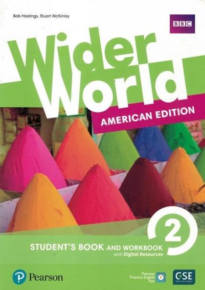 Wider World 2 Sb + Wb + Online - American