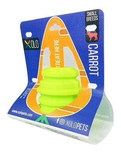 Imagen 1 de 3 de Juguete Para Perro Super Resistente De Poliuretano Carrot