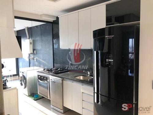 Apartamento Em Condomínio Padrão Para Venda No Bairro Vila Regente Feijó, 2 Dorms, 1 Vaga, 70 M - 5914