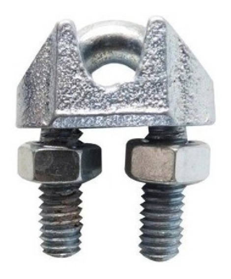 Nudo Ranurado Para Cable De Acero 3/16 Con 100 Pzas