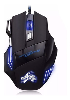 Mouse Gamer Led 7 Botones 3.600 Dpi K61