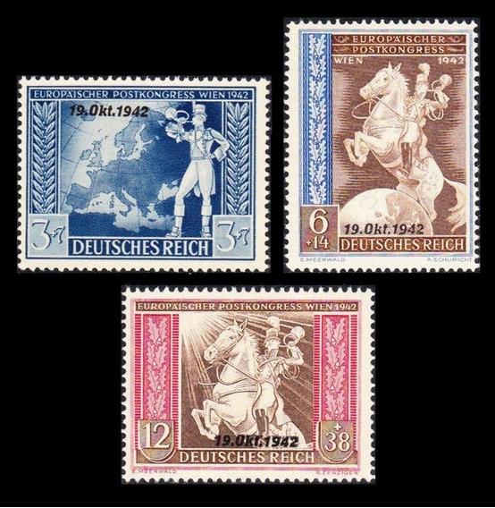 Série Completa Alemanha Nazista Terceiro Reich 1942 #823