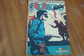 Gibi Ebal / Zorro Em Cores 45 (1975) Aliança Perigosa