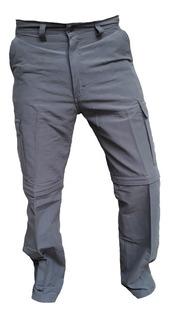 Pantalon Cargo Desmontable Hombre Secado Rapido Trekking Respirable Montañismo Quilmes Oferta Cuotas Pagos Sin Interes