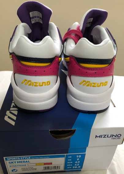 Tênis Mizuno Sky Medal Fresh 90s White/cyber 42br - 10 Us