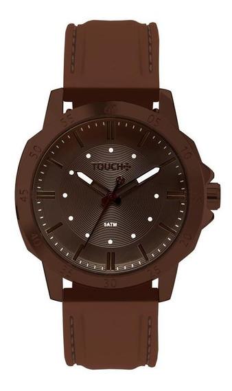Relógio Touch Unissex Vert Marrom Tw2036mkd/8m