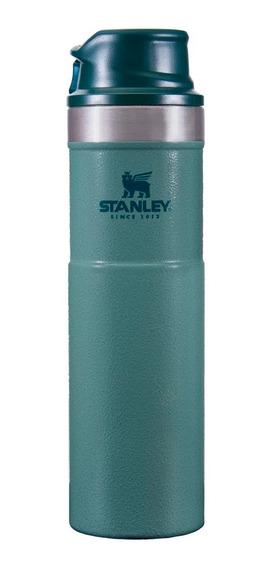 Vaso Stanley 591 Ml One Hand Travel Mug Verde