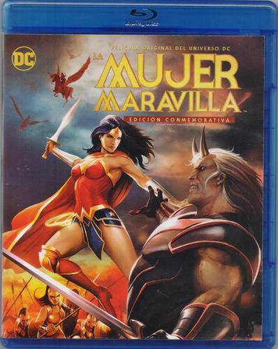 Imagen 1 de 3 de La Mujer Maravilla Wonder Woman Conmemorativa Dc Blu-ray