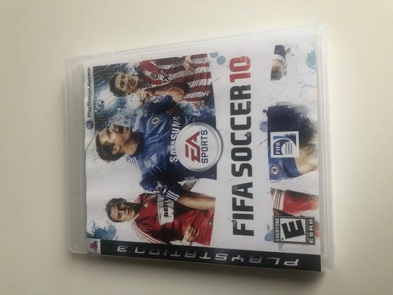 Fifa Soccer 10 - Ps3 Perfeito Estado Midia Fisica