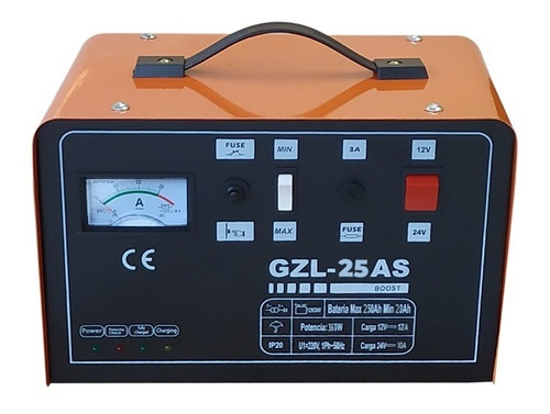 Imagen 1 de 6 de Cargador De Baterías 25a Con Auto Stop Kushiro 12/24 Gzl25as