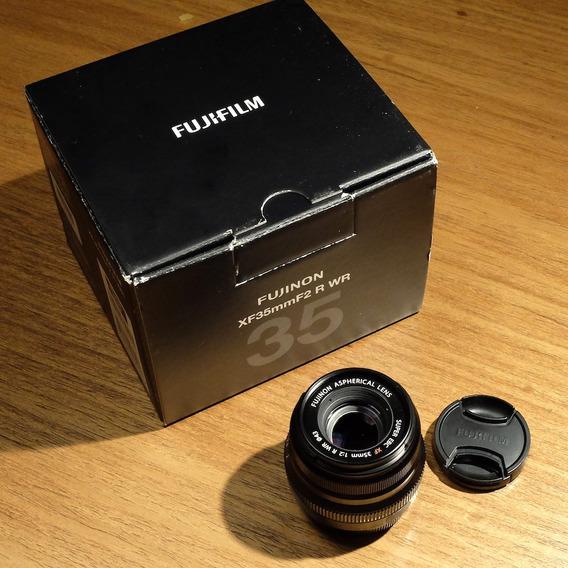 Lente Objetiva Fujifilm 35mm F2 R Wr
