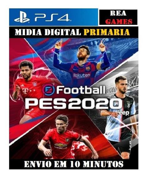 Efootball Pes 2020 Ps4 Original 1 Dublado Em Português