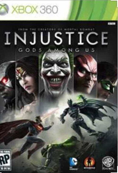 Injustice Gods Amoug Mídia Digital