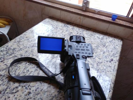 Câmera Filmadora Sony Profissional Hdr Fx1 Novíssima