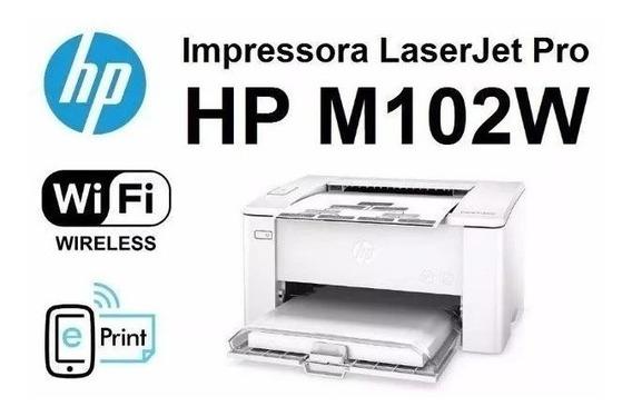 Impressora Hp Laserjet Pro M102w Wi-fi