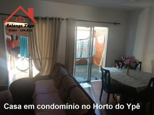 Casa No Horto Do Ypê - 3 Dorms - 146 Mts - Condomínio Fechado - 1686