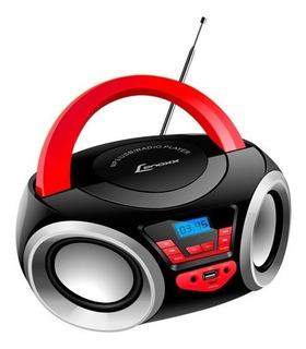 Rádio Portátil Boombox Lenoxx Bluetooth Bd110 Usb/sd/aux/fm