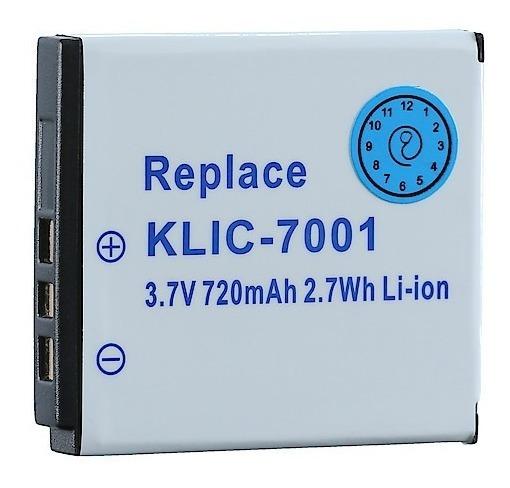 13 Pila Marca Digital Kodak Klic-7001 3.7 Volt 1200 Mah