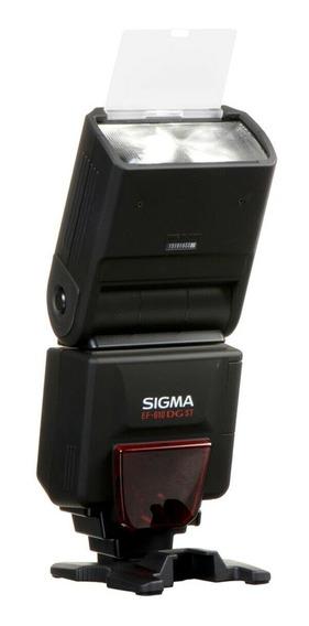 Flash Sigma Ef-610dg St Para Cameras Sony Minolta Novo