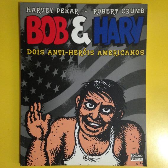 Hq Bob E Harv Dois Anti-heróis Americanos Robert Crumb Pekar