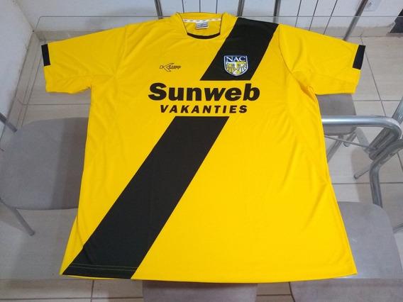 Camisa Time Futebol Nac Breda Holanda Klupp Oficial