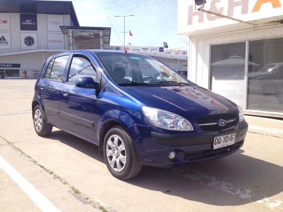 Hyundai Getz / 2011 / Azul Ming