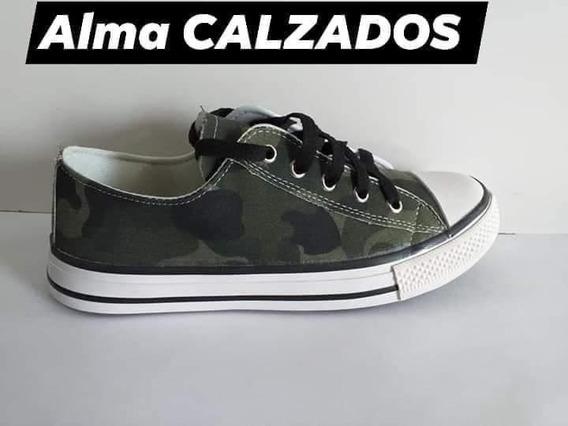 Zapatillas Camufladas Con/sin Plataforma (x Mayor Y Menor)
