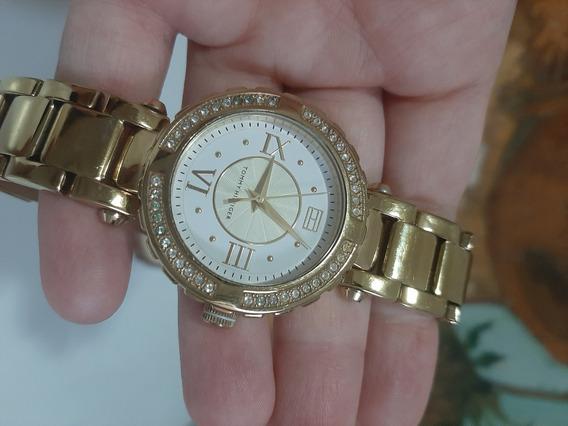 Relógio Tommy Hilfiger Dourado Original