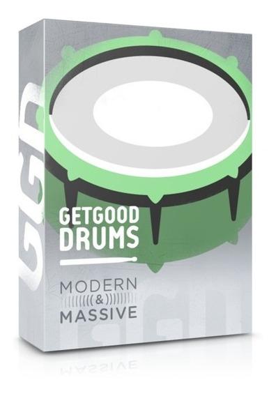 Getgood Drums Modern & Massive Librería De Batería Solo Pc