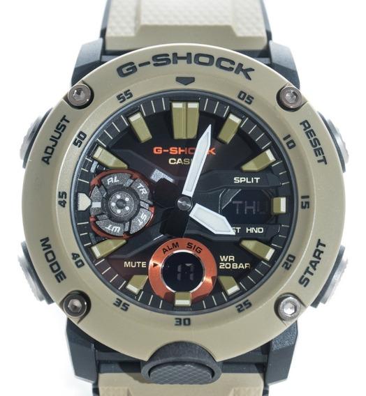 Relógio G-shock Ga 2000 Carbono Lançamento 2020 Garantia