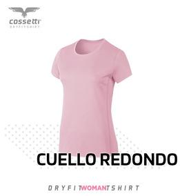 Playera Cuello Redondo Cossetti Manga Corta Dry Fit Xl, 2xl