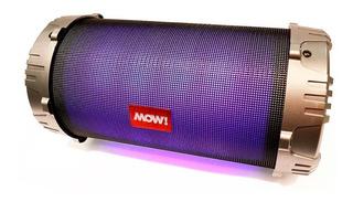 Parlante Karaoke Bazooka Mow! 15w Fm Bluetooth Usb Luces Led