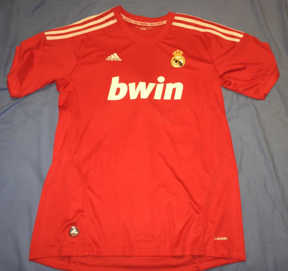 Camiseta Roja Del Real Madrid adidas