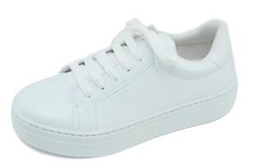 Tênis Feminino Casual Fioratto Branco