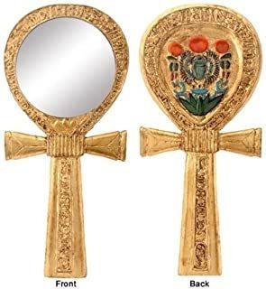 Ankh Egyptian Mirror Collectible Egypt God Religious Symbol