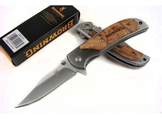 Cuchillo Navaja Browning. 16 Cms. Caja Incluida. 1 Unidad.