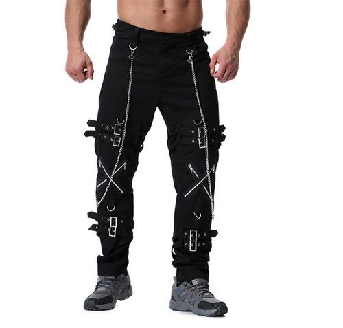 Pantalones Goticos Hombre Casual Treet Jogger Hip Hop Style Mercado Libre