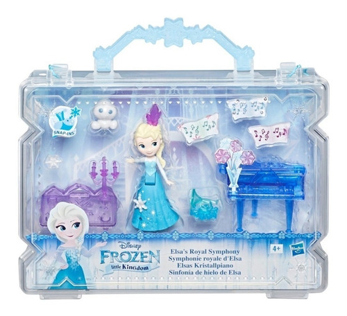 Muñeca Frozen Elsa Valija Disney Original Hasbro