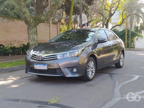 Toyota Corolla 1.8 Se-g Automático 2016 Gris Excelente