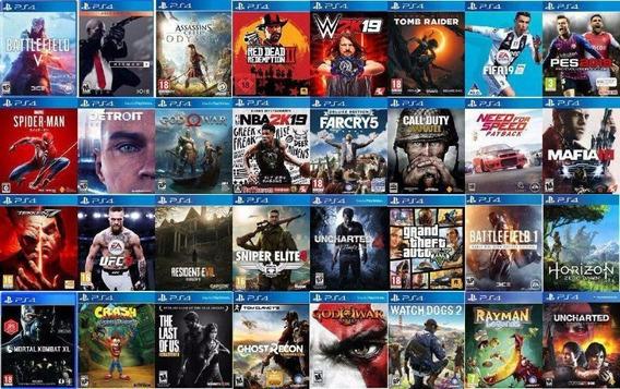 20 Jogos Ps4 Original 1 (aleatórios)