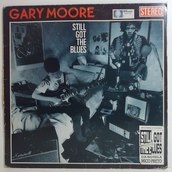 Gary Moore 1990 Still Got The Blues Lp Moving On