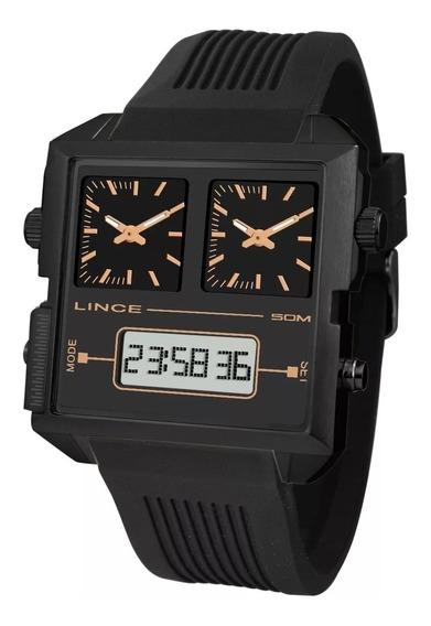 Relógio Lince Original Anadigi Map4588s P1px